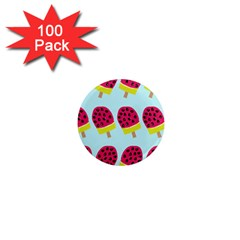 Watermelonn Red Yellow Blue Fruit Ice 1  Mini Magnets (100 Pack)