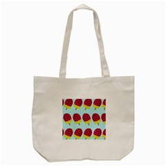 Watermelonn Red Yellow Blue Fruit Ice Tote Bag (cream)