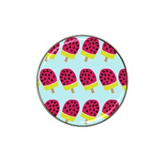 Watermelonn Red Yellow Blue Fruit Ice Hat Clip Ball Marker (10 pack)