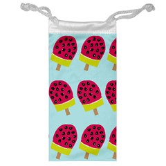 Watermelonn Red Yellow Blue Fruit Ice Jewelry Bag