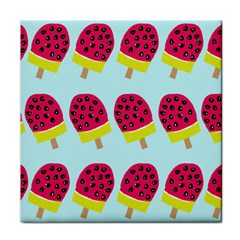 Watermelonn Red Yellow Blue Fruit Ice Face Towel