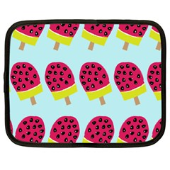 Watermelonn Red Yellow Blue Fruit Ice Netbook Case (XL)