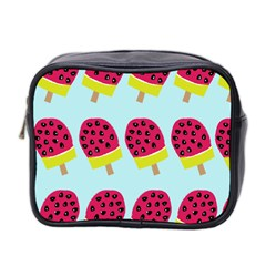 Watermelonn Red Yellow Blue Fruit Ice Mini Toiletries Bag 2-Side