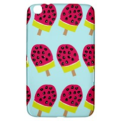 Watermelonn Red Yellow Blue Fruit Ice Samsung Galaxy Tab 3 (8 ) T3100 Hardshell Case