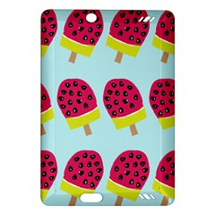 Watermelonn Red Yellow Blue Fruit Ice Amazon Kindle Fire HD (2013) Hardshell Case