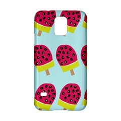 Watermelonn Red Yellow Blue Fruit Ice Samsung Galaxy S5 Hardshell Case