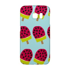 Watermelonn Red Yellow Blue Fruit Ice Galaxy S6 Edge
