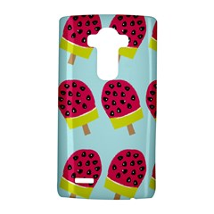 Watermelonn Red Yellow Blue Fruit Ice LG G4 Hardshell Case