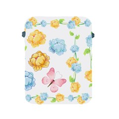 Rose Flower Floral Blue Yellow Gold Butterfly Animals Pink Apple iPad 2/3/4 Protective Soft Cases