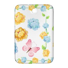 Rose Flower Floral Blue Yellow Gold Butterfly Animals Pink Samsung Galaxy Note 8 0 N5100 Hardshell Case
