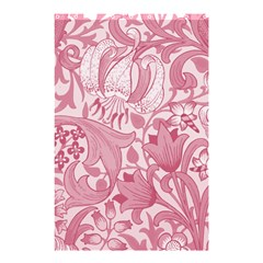 Vintage Style Floral Flower Pink Shower Curtain 48  x 72  (Small)