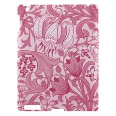 Vintage Style Floral Flower Pink Apple iPad 3/4 Hardshell Case