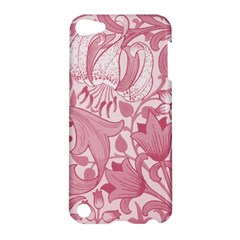 Vintage Style Floral Flower Pink Apple iPod Touch 5 Hardshell Case