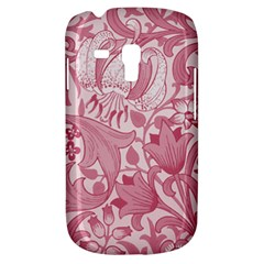 Vintage Style Floral Flower Pink Galaxy S3 Mini