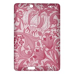 Vintage Style Floral Flower Pink Amazon Kindle Fire HD (2013) Hardshell Case