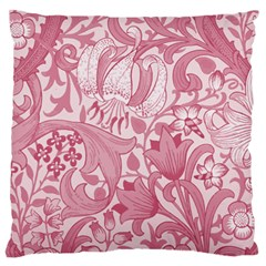 Vintage Style Floral Flower Pink Standard Flano Cushion Case (Two Sides)