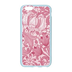 Vintage Style Floral Flower Pink Apple Seamless iPhone 6/6S Case (Color)