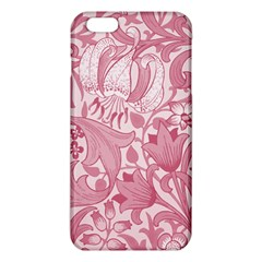 Vintage Style Floral Flower Pink iPhone 6 Plus/6S Plus TPU Case