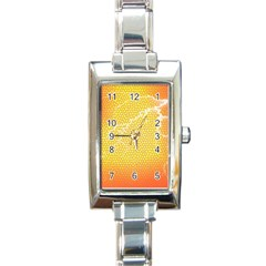 Exotic Backgrounds Rectangle Italian Charm Watch