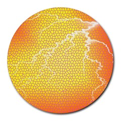 Exotic Backgrounds Round Mousepads