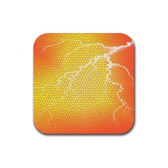 Exotic Backgrounds Rubber Coaster (Square)