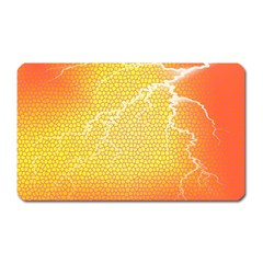 Exotic Backgrounds Magnet (Rectangular)