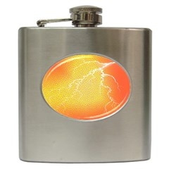 Exotic Backgrounds Hip Flask (6 oz)