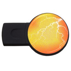 Exotic Backgrounds USB Flash Drive Round (1 GB)
