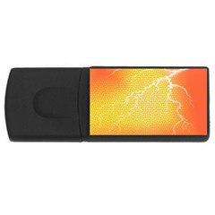 Exotic Backgrounds USB Flash Drive Rectangular (2 GB)