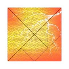 Exotic Backgrounds Acrylic Tangram Puzzle (6  x 6 )