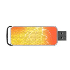 Exotic Backgrounds Portable USB Flash (Two Sides)