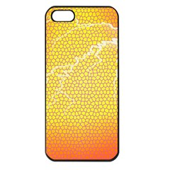 Exotic Backgrounds Apple iPhone 5 Seamless Case (Black)