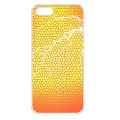 Exotic Backgrounds Apple iPhone 5 Seamless Case (White)