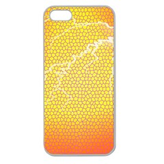 Exotic Backgrounds Apple Seamless iPhone 5 Case (Clear)