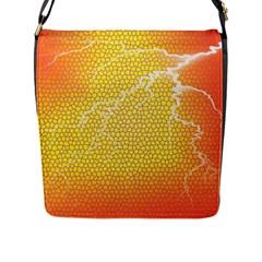 Exotic Backgrounds Flap Messenger Bag (L)