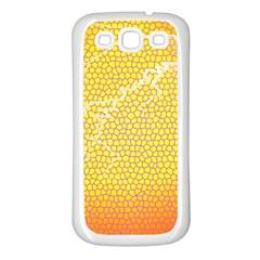 Exotic Backgrounds Samsung Galaxy S3 Back Case (White)