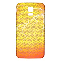 Exotic Backgrounds Samsung Galaxy S5 Back Case (White)