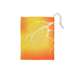 Exotic Backgrounds Drawstring Pouches (Small)