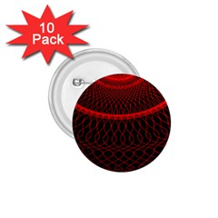 Red Spiral Featured 1.75  Buttons (10 pack)