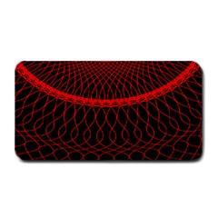 Red Spiral Featured Medium Bar Mats