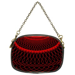 Red Spiral Featured Chain Purses (one Side)