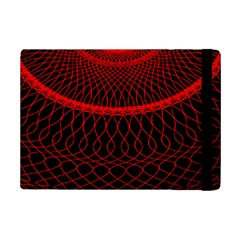 Red Spiral Featured iPad Mini 2 Flip Cases