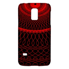 Red Spiral Featured Galaxy S5 Mini