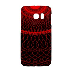 Red Spiral Featured Galaxy S6 Edge