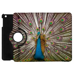 Indian Peacock Plumage Apple Ipad Mini Flip 360 Case