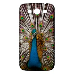 Indian Peacock Plumage Samsung Galaxy Mega 5.8 I9152 Hardshell Case