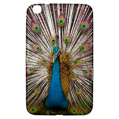 Indian Peacock Plumage Samsung Galaxy Tab 3 (8 ) T3100 Hardshell Case
