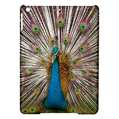 Indian Peacock Plumage iPad Air Hardshell Cases