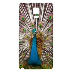 Indian Peacock Plumage Galaxy Note 4 Back Case