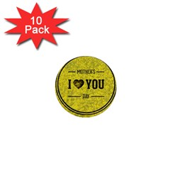 Happy Mother Day 1  Mini Buttons (10 pack)